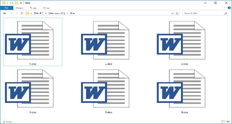 Open DOC File