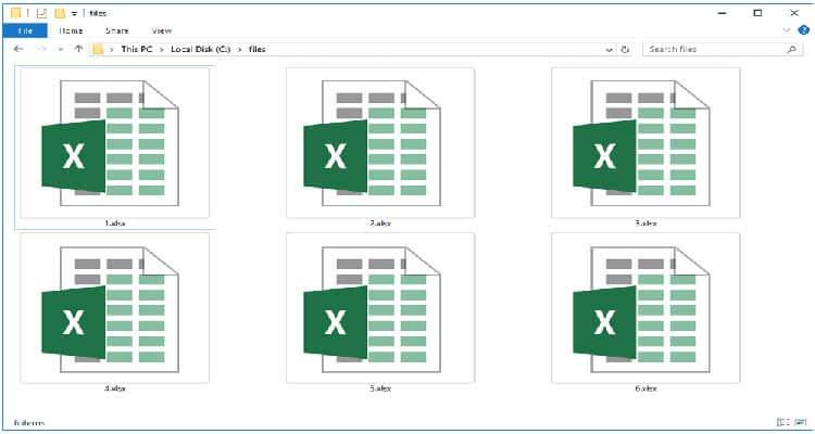 open XLSX File
