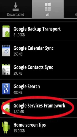 Google Services Framework1