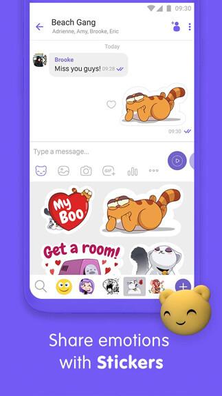 Viber Messenger4