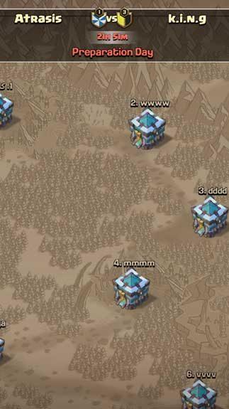 Atrasis - Clash of Clans Server2