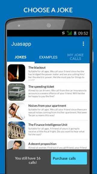 Juasapp - Prank Calls4