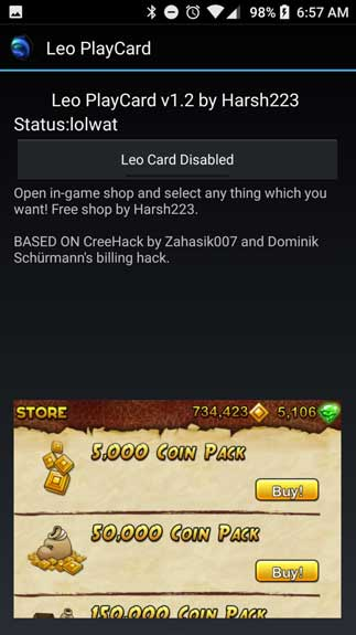 Leo PlayCard3