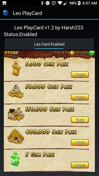 Leo PlayCard4