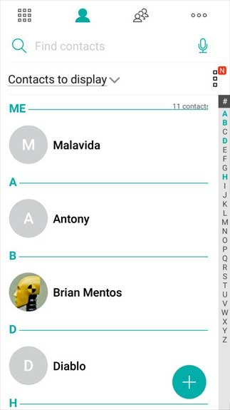 ZenUI Dialer & Contacts3