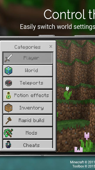 Toolbox for Minecraft: PE3