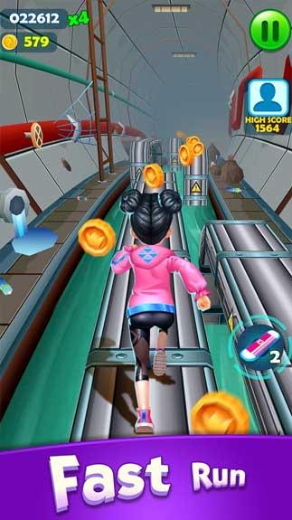 Subway Princess Runner1